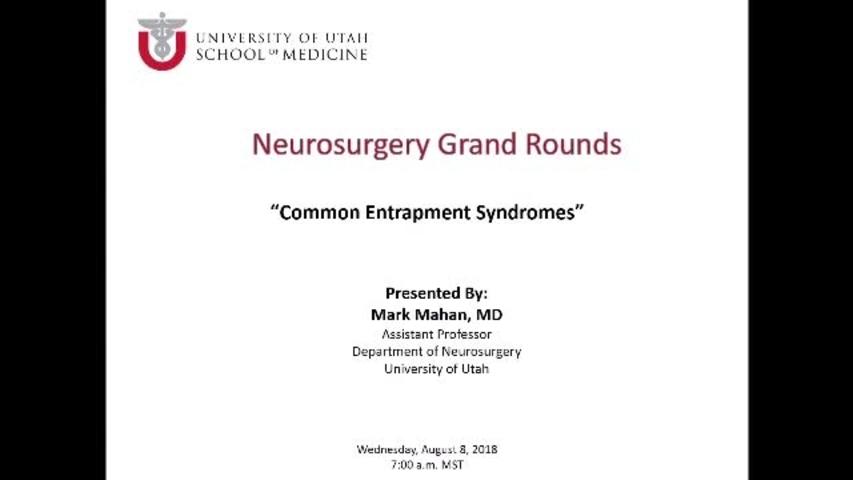 Mark A  Mahan, MD - Neurosurgery , Peripheral Nerve Surgery