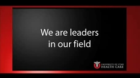 Thumbnail for entry We are leaders in our fields