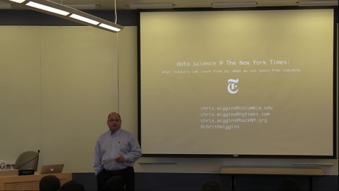 Thumbnail for entry Data Science at the New York Times