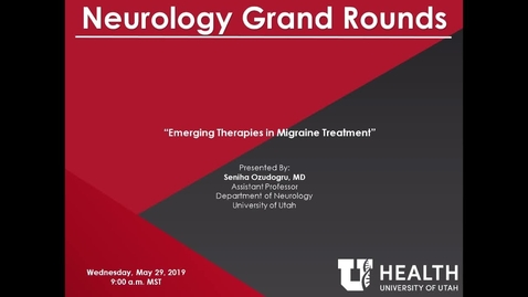 Thumbnail for entry Emerging Therapies in Migraine Treatment