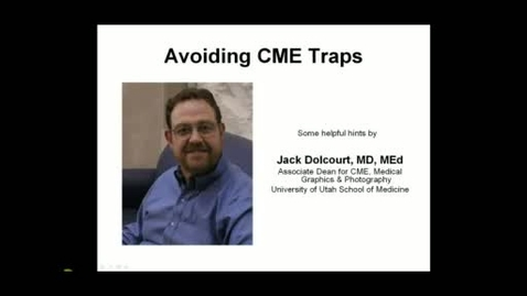 Thumbnail for entry Avoiding CME Traps