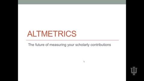 Thumbnail for entry Video 8 Altimetrics