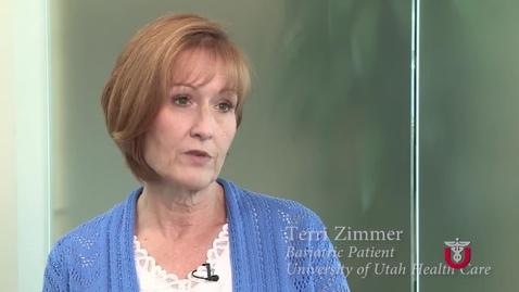Thumbnail for entry Terri Zimmer Bariatric Testimonial