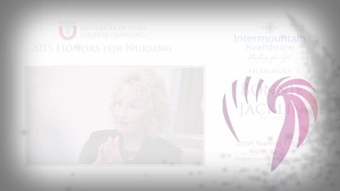 Thumbnail for entry Bonnie Jacklin Intermountain Healthcare Honoree
