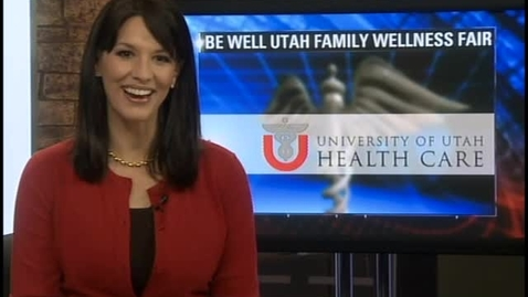 Thumbnail for entry Welcome to Be Well Utah 2013