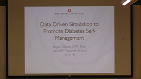 Thumbnail for entry Data Driven Simulation to Promote Diabetes Self-Management