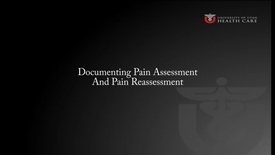 Thumbnail for entry Documenting Pain Assessment and Reassessment Using CAPA, A Demonstration
