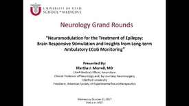 Thumbnail for entry Neuromodulation for the Treatment of Epilepsy: Brain Responsive Stimulation and Insights from Long-term Ambulatory ECoG Monitoring