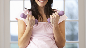 Thumbnail for entry Benefits of Exercising While Pregnant