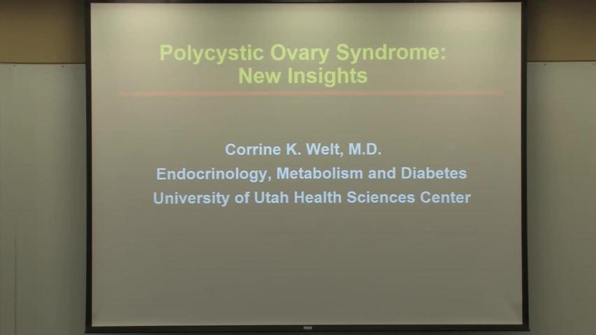 Corrine K  Welt, MD - Endocrinology & Metabolism , , Internal
