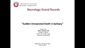 Thumbnail for entry Sudden Unexpeted Death in Epilepsy (SUDEP)