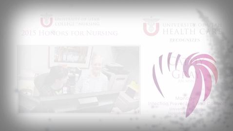 Thumbnail for entry Cathy Gray University of Utah Health Care Honoree