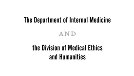 Thumbnail for entry Memorial Lectures in Humanistic Medicine | Arnold Relman, MD