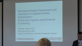 Thumbnail for entry Neuropsychological Assessment and Intervention in Inpatient Stroke Rehabilitation: Enhancing Cognitive and Emotional Functioning