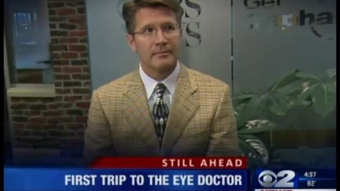 Thumbnail for entry Back to school eye exams, Dr. Dries