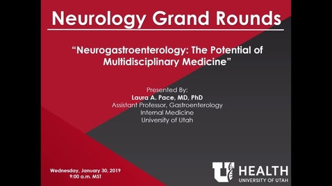 Thumbnail for entry Neurogastroenterology: The Potential of Multidisciplinary Medicine