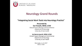 Thumbnail for entry Integrating Social Work Tools into Neurology Practice