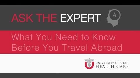 Thumbnail for entry 49_Before Traveling_V06