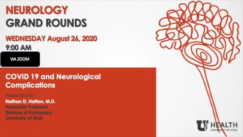 Thumbnail for entry COVID 19 and Neurological Complications