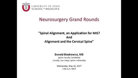 Thumbnail for entry Neurosurgery Grand Rounds 05-10-2017
