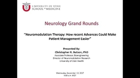 Thumbnail for entry Neuromodulation Therapy: How Recent Advances Could Make Patient Management Easier (But Sometimes More Difficult)