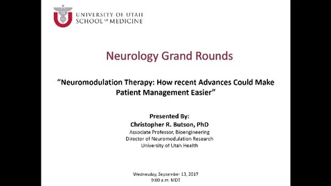 Neuromodulation Therapy: How Recent Advances Could Make Patient Management Easier (But Sometimes More Difficult)