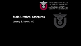Thumbnail for entry Treatment for Urethral Strictures
