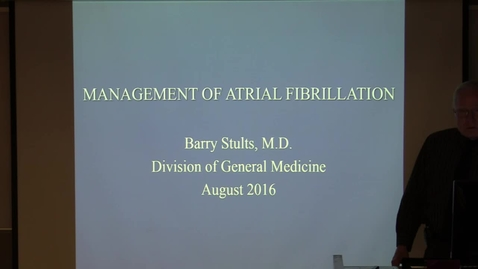 Thumbnail for entry Atrial Fibrillation