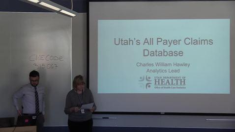 Thumbnail for entry BMI Graduate Seminar - Charles William Hawley
