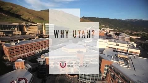 Thumbnail for entry Why Utah?