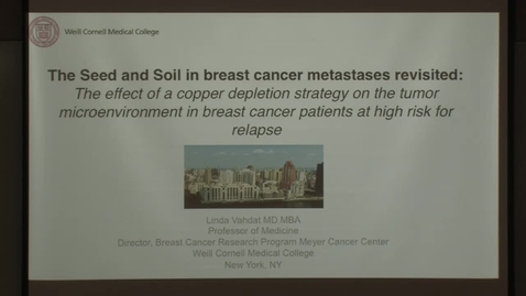 Thumbnail for entry The seed & soil in breast cancer metastases revisited