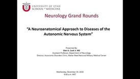 Thumbnail for entry A Neuroanatomical Approach to Diseases of the Autonomic Nervous System