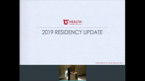 Thumbnail for entry 6/19/19 State of the Residency