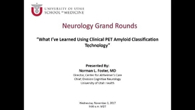 Thumbnail for entry What I've Learned Using Clinical PET Amyloid Classification Technology