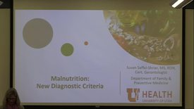 Thumbnail for entry Malnutrition: new diagnostic criteria