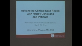 Thumbnail for entry BMi Graduate Seminar - Stephane Meystre