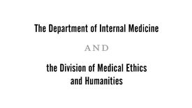 Thumbnail for entry Conflicts of Interest in Medicine | Marcia Angell, MD