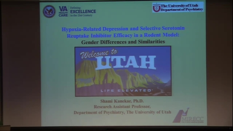 Thumbnail for entry HRD & SSRI Efficacy in a Rodent Model: Gender Differences & Similarities