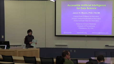 Thumbnail for entry Accessible Artificial Intelligence for Data Science