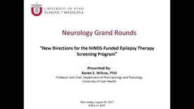 Thumbnail for entry New Directions for the NINDS-Funded Epilepsy Therapy Screening Program