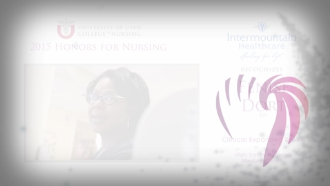 Thumbnail for entry Fenise Dort Intermountain Healthcare Honoree