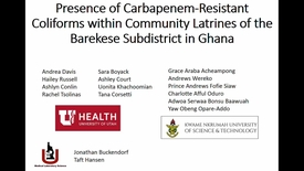 Thumbnail for entry Carbapenem-Resistant Coliforms in Community Latrines of the Barekese Sub-District in Ghana: Preliminary Results