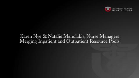 Thumbnail for entry Karen Nye and Natalie Manolakis: Collaboration