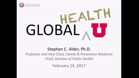 Thumbnail for entry Advancing Global Health at the University of Utah (NO AUDIO)