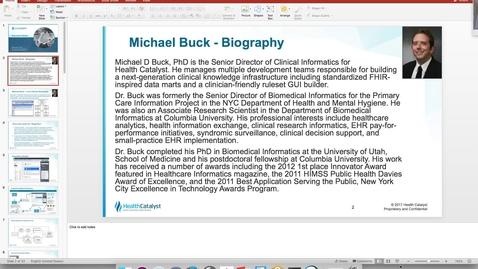 Thumbnail for entry DBMI Business Seminar- Michael Buck, PhD