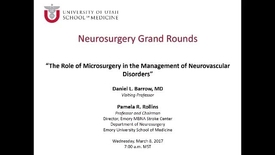 Thumbnail for entry Neurosurgery Grand Rounds 03-08-2017