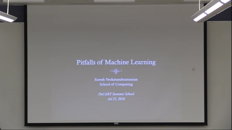 Thumbnail for entry Pitfalls of Machine Learning