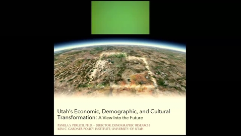 Thumbnail for entry Utah's Economic, Demographic, and Cultural Transformation: A View Into the Future