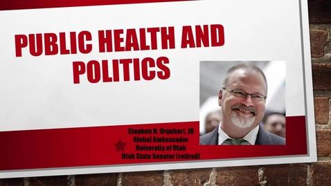 Public Health and Politics