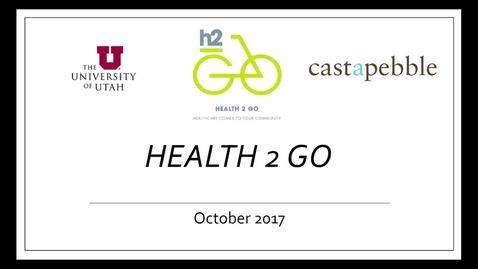 Thumbnail for entry Health 2 Go